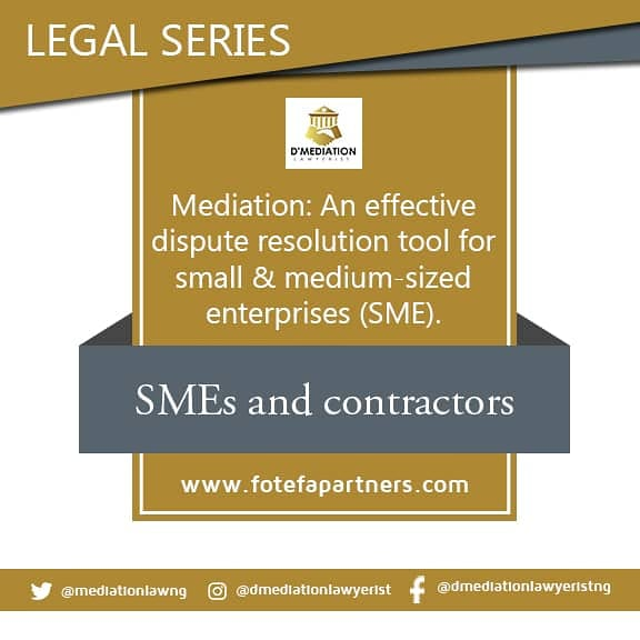 Legal series 3- Mediation: An effective dispute resolution tool for SMEs