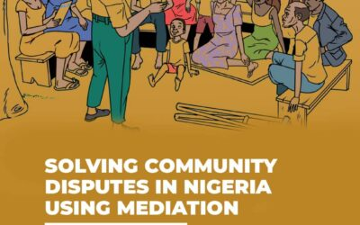 SOLVING COMMUNITY DISPUTES IN NIGERIA USING MEDIATION